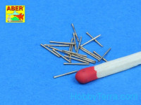Set of 20 pcs 1/350 37mm /54 Breda gun barrels for Italian Navy ships