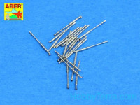 Set of 20 pcs 1/350 20mm /65 Breda gun barrels for Italian Navy ships