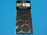 Wires set (diameter 0,2; 0,3; 0,4; 0,5; 0,6 mm, length 1m each)