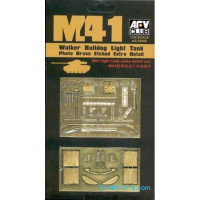 Photo-etched set 1/35 for M41A1/A2/A3