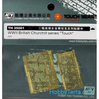 Photo-etched set 1/35 for WWII British Churchill series