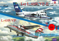 Let L-410UVP-E & L-410UVP aircraft (2 kits in box)