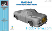 MAZ-541 airfield heavy hauler