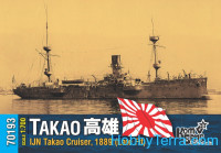 IJN Takao cruiser, 1889 (late fit)