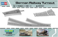 German Railway Turnout