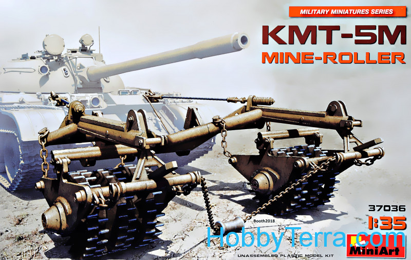 Miniart  37036 KMT-5M Mine-Roller