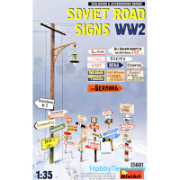 WWII Soviet road signs