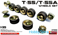 Wheels set for T-55/T-55A tank