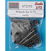 Wheels set 1/72 for T-72, early