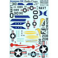 Decal 1/48 for Grumman F9F Panther, Part 2