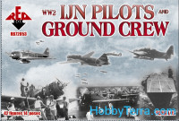WW2 IJN pilots and ground crew