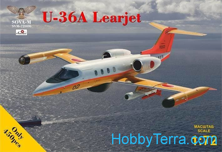Sova Model  72006 U-36A Learjet