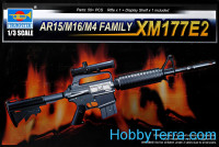 Assault rifle AR15/M16/M4 Family XM177E2