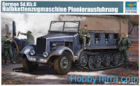 German Sd.Kfz.6 half-track