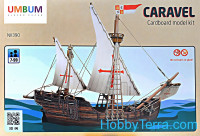 Caravel, cardboard kit