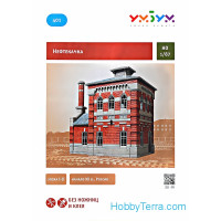 Oil-Pump House, cardboard kit