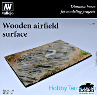 Wooden airfield surface
