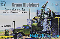 Crane Bleichert. Conversion set for Italeri/Zvezda kit (resin/pe)